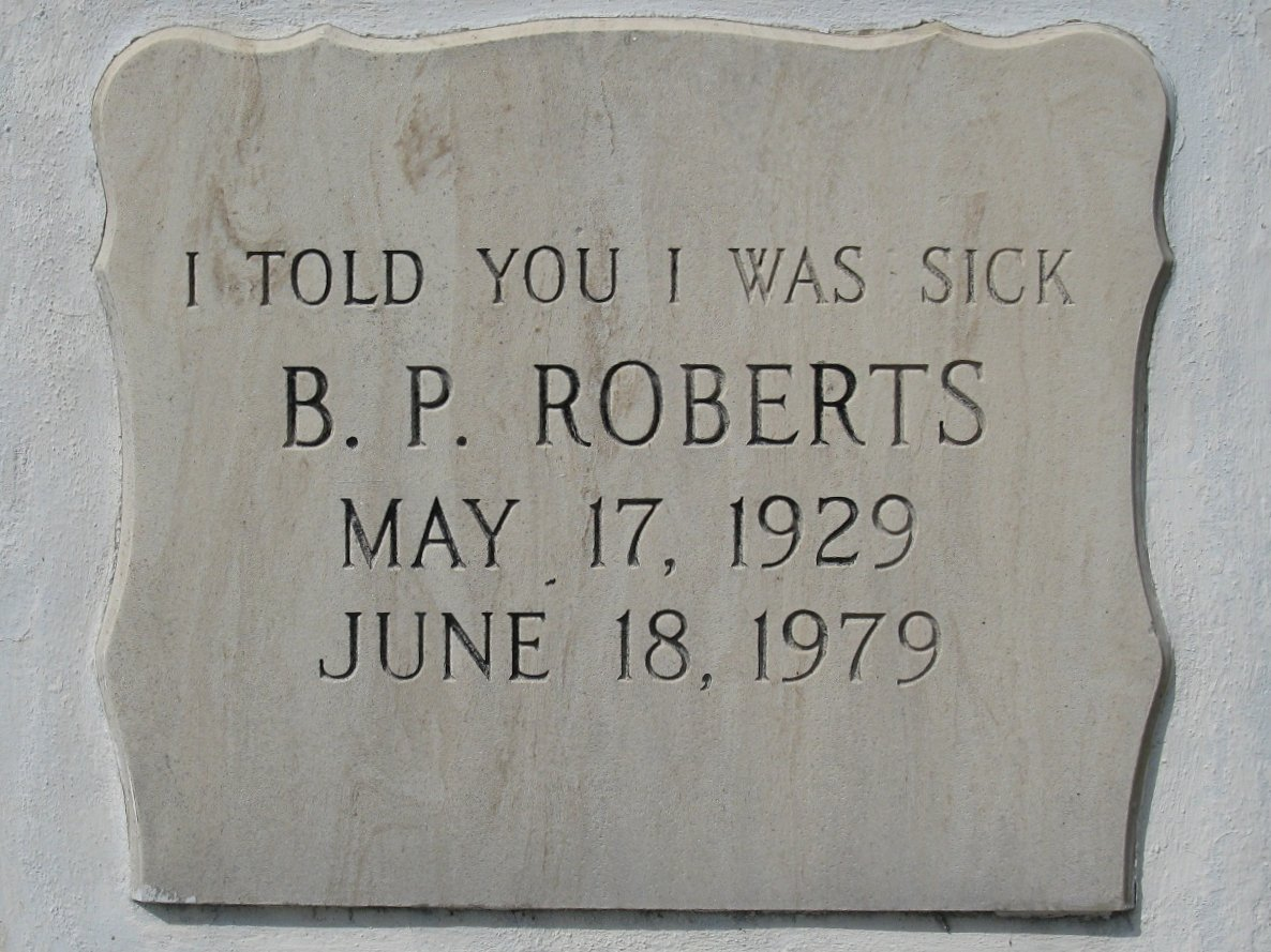Image result for i told you i was sick headstone