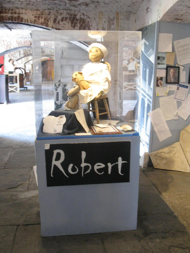 Robert The Doll Shoestring Weekends Blog