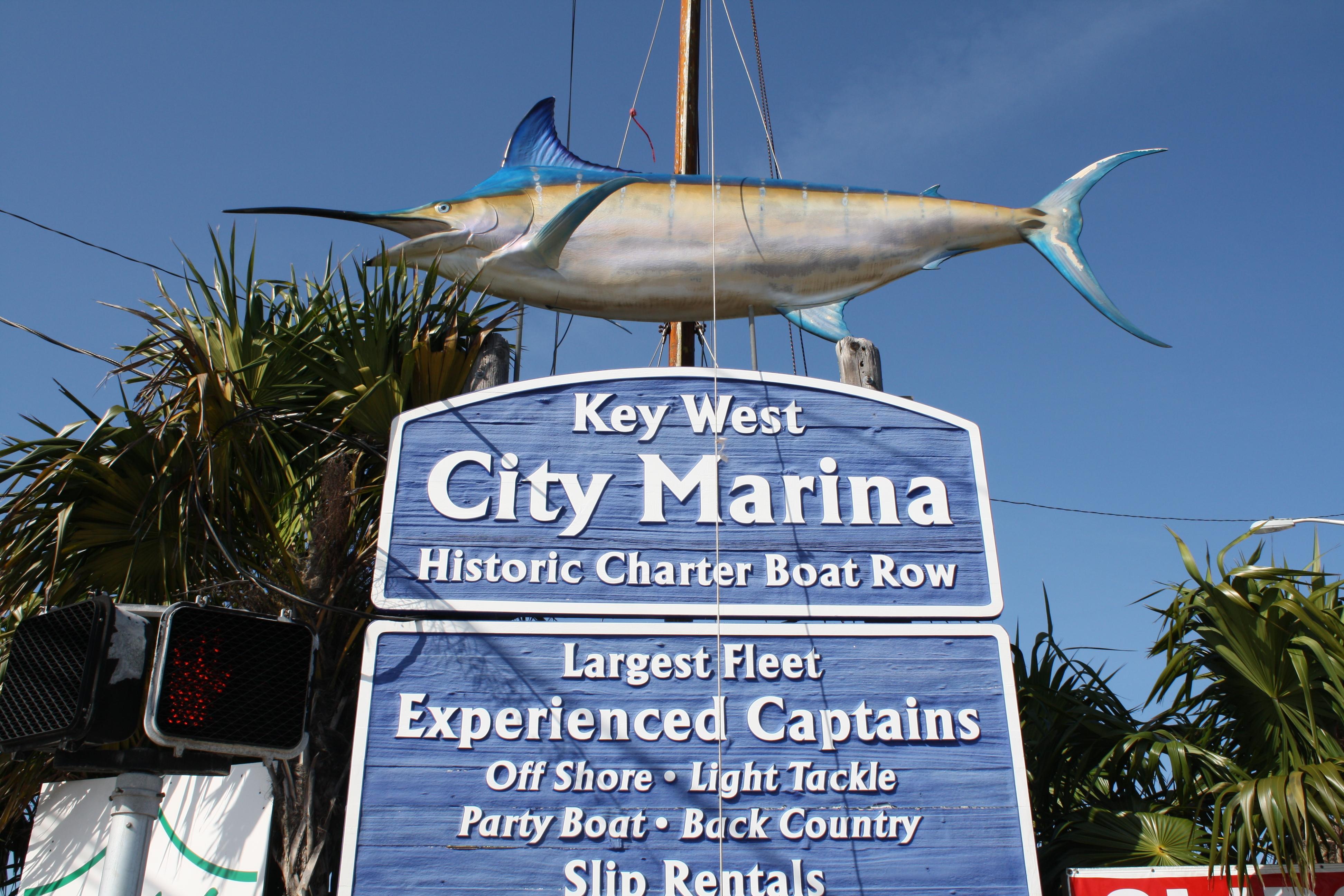 City marina shoestring weekends blog for Key city fish