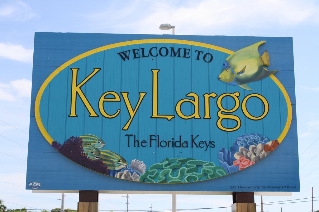 welcome to key largo