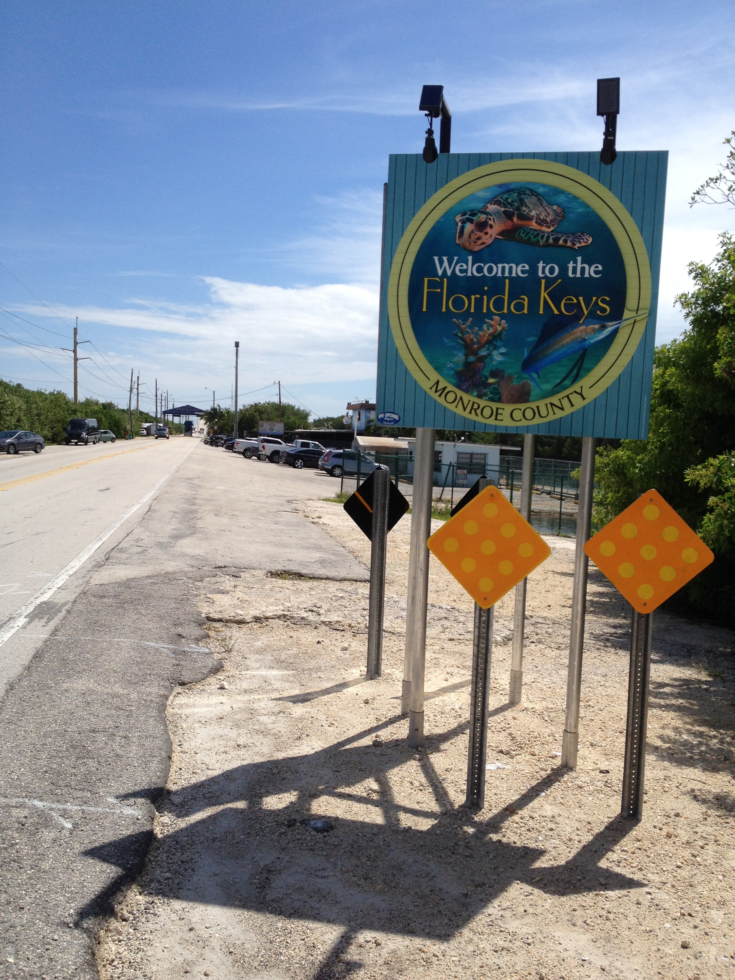 New Welcome To The Florida Keys Sign | Shoestring Weekends Blog